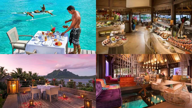 Conrad Bora Bora Nui - Dining And Drinks