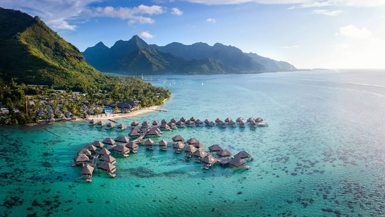 Hotel Hilton Moorea Lagoon Resort & Spa - Resort View