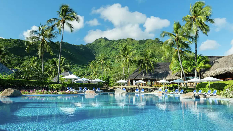 Hotel Hilton Moorea Lagoon Resort & Spa - Pool