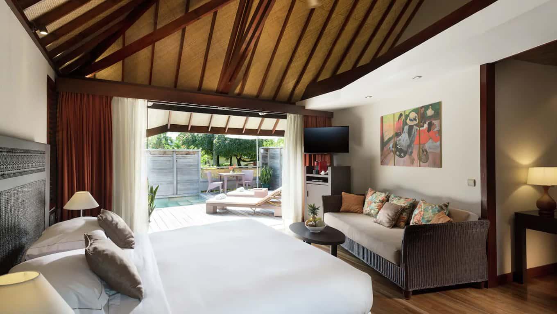 Hotel Hilton Moorea Lagoon Resort & Spa - Accommodations