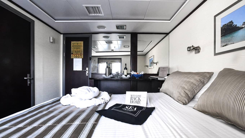 M/Y Harmony V - Cabin