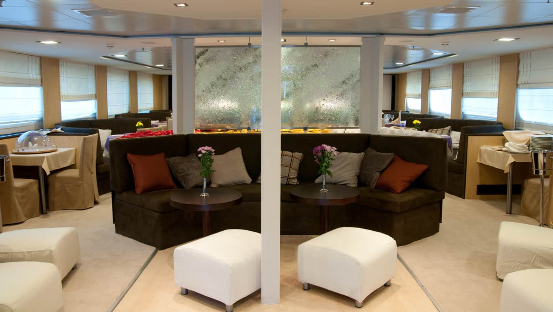 M/Y Harmony V - Lounge Area