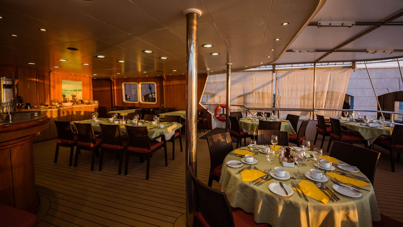 M/S Panorama II - Indoor Dining