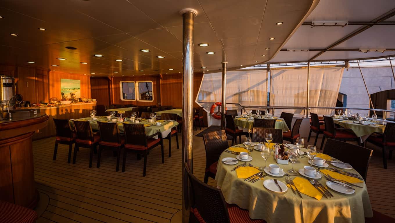 M/S Panorama II - Indoor Dining