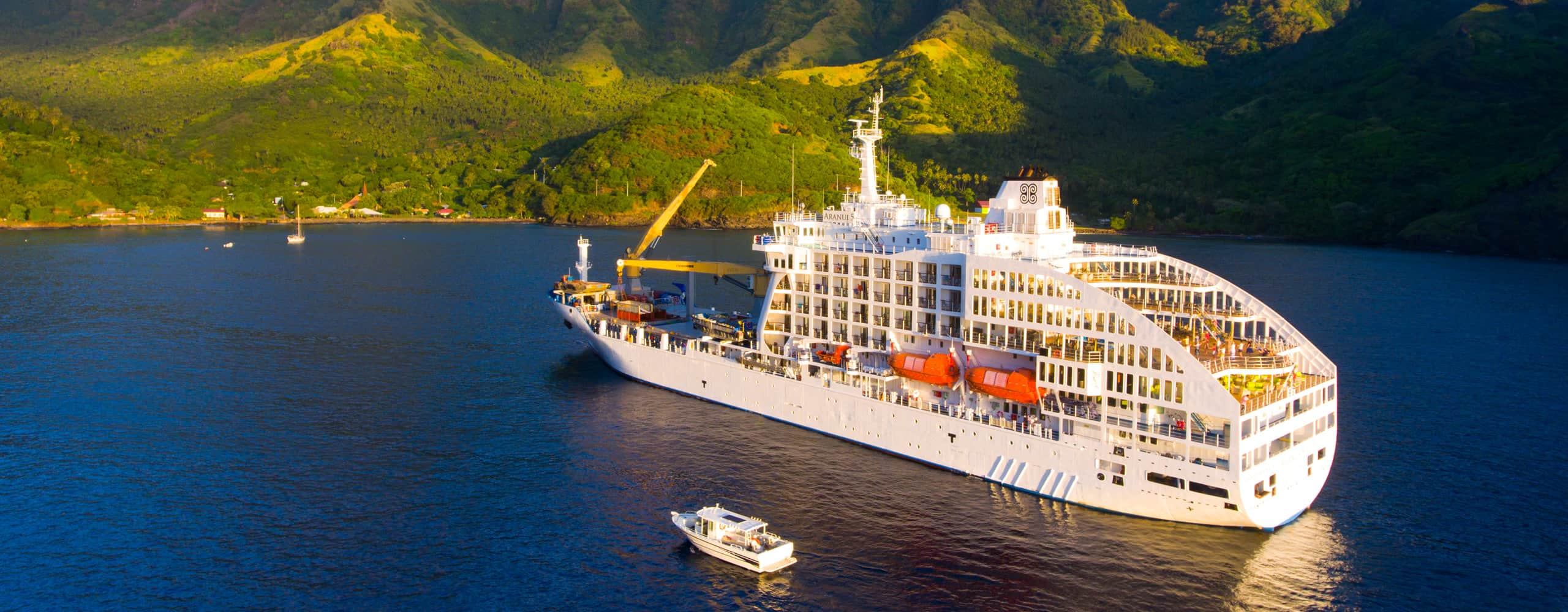 Aranui 5 In The Marquesas Islands, French Polynesia