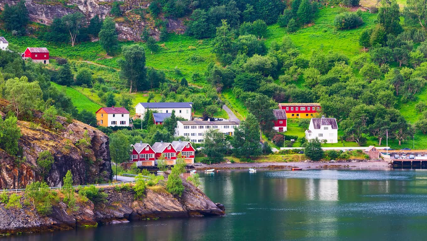 Village Of Flam - Flam, Norway