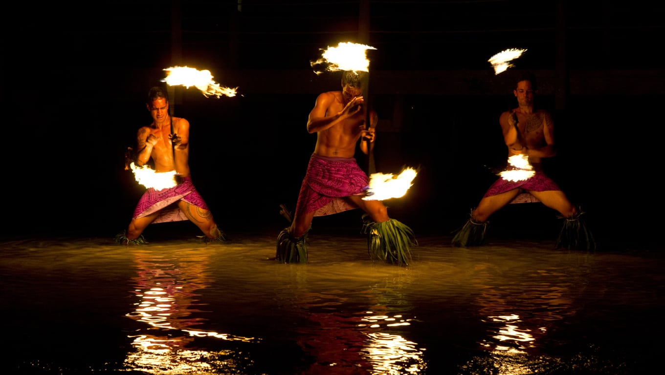 Fire Dance Show, Moorea