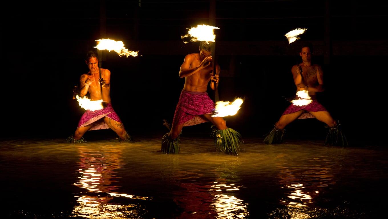 Fire Dance Show, Moorea
