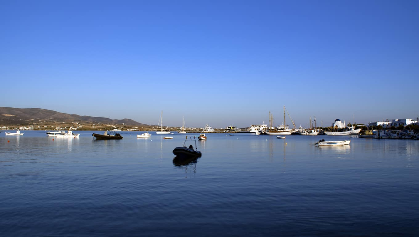 Bay Of Antiparos, Greece